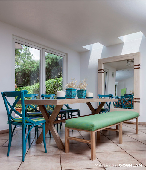 Dining room by MARIANGEL COGHLAN,