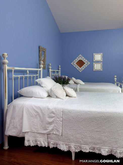 Recámara para niñas Dormitorios infantiles modernos de MARIANGEL COGHLAN Moderno