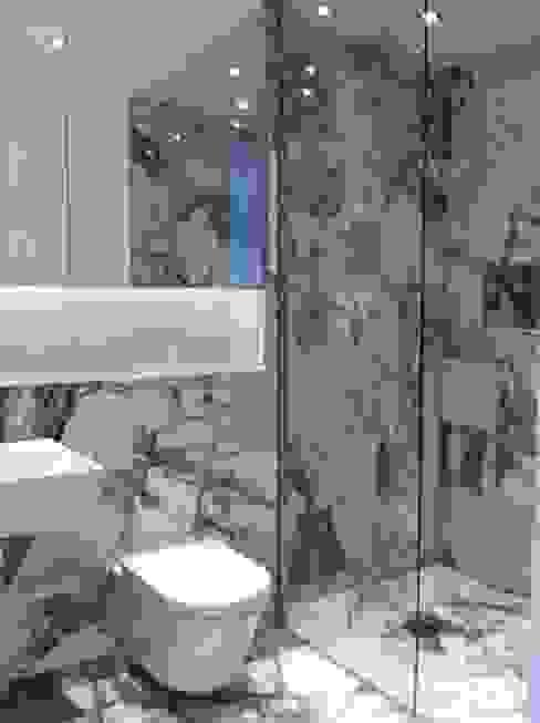 Basement Bathroom Modern bathroom by Gullaksen Architects Modern