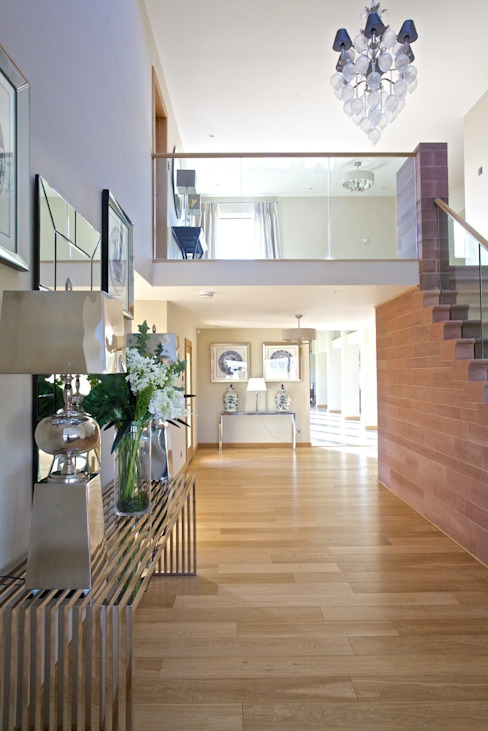 steading conversion:  Corridor, hallway & stairs by adam mcnee ltd,