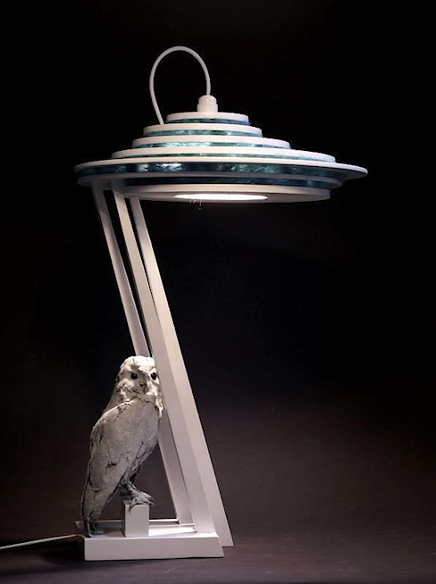 Bureaulamp (XIII): modern  door atelier De Zondagse Kamer, Modern