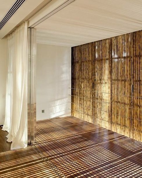 Tropical style windows & doors by BAMBU CARBONO ZERO Tropical