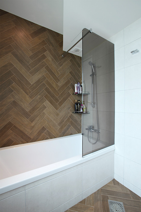 일산 강선마을 벽산아파트 58평형: MID 먹줄의  욕실,모던