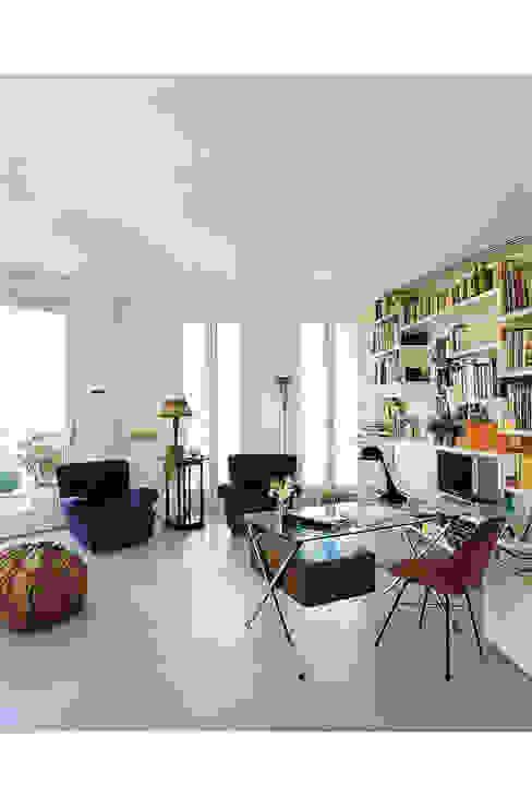 Zona studio e conversazione di 8&A Architetti Moderno