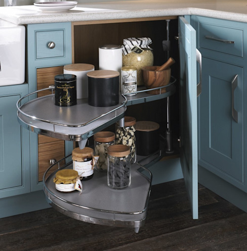 Happiest when the skies are blue Alaris London Ltd KitchenCabinets & shelves