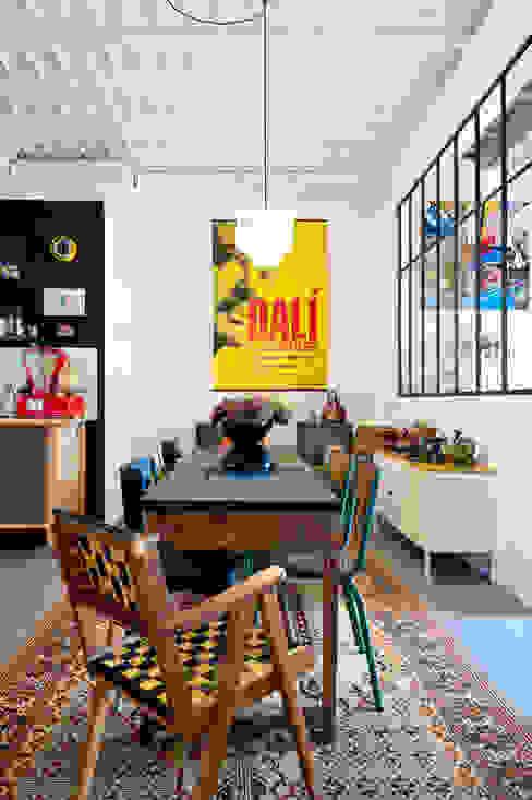Marie Dumora Industrial style dining room