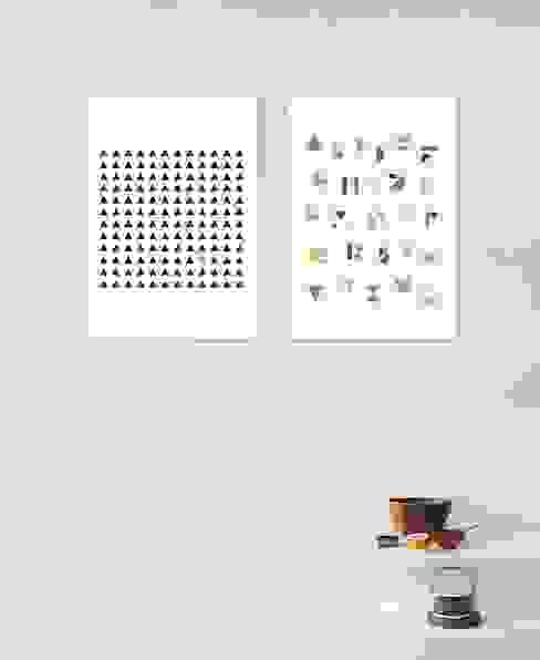 Minimalism Poster Minimalistische Wohnzimmer von JUNIQE Minimalistisch