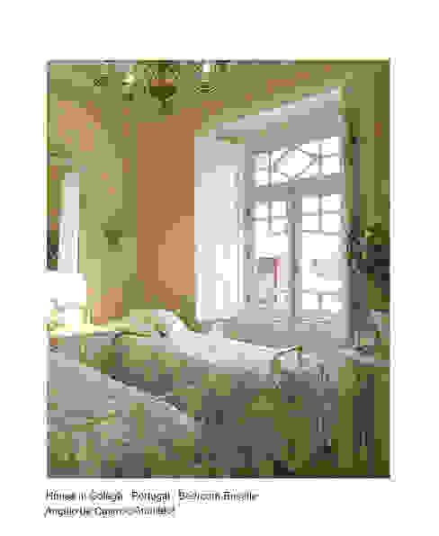 Rustieke slaapkamers van ADeCArquitetura Rustiek & Brocante