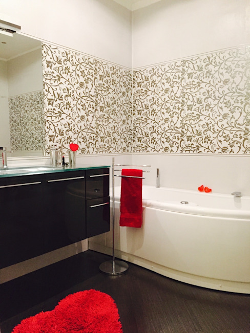 Paola Boati Architetto Ванная в классическом стиле