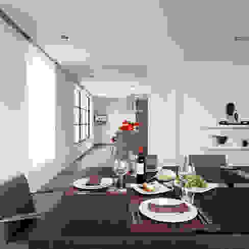 chatelain Salle à manger moderne par Ensemble et associes Moderne