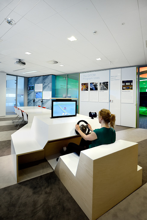 Simulator Moderne exhibitieruimten van thisisjane Modern
