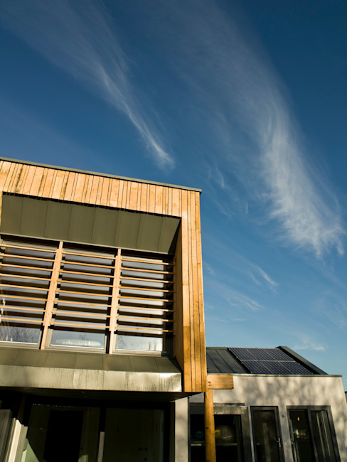 Solar shading & solar energy Modern houses by Gavin Langford Architects Modern
