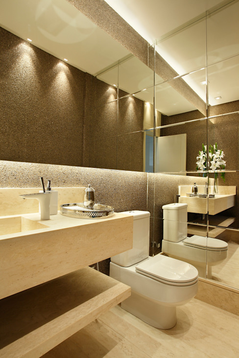 Bathroom by Arquitetura e Interior, Modern