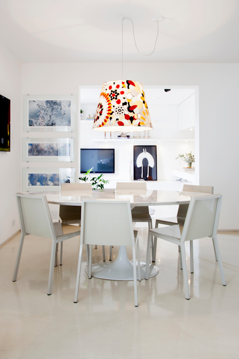 Ruang Makan Minimalis Oleh Helô Marques Associados Minimalis