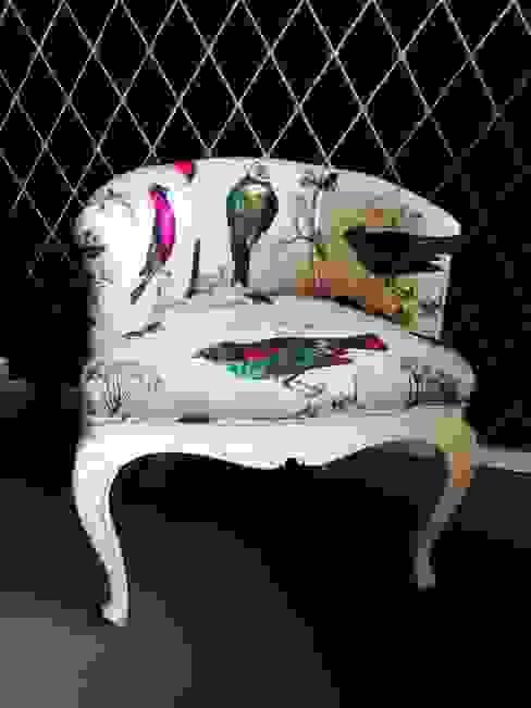 Fotel Ptaszek Na Ludwiku: styl , w kategorii  zaprojektowany przez Juicy Colors,Klasyczny