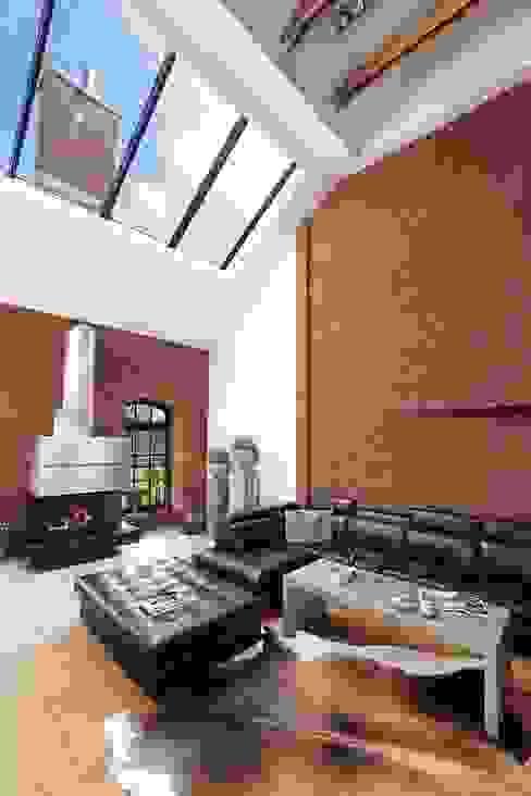 Salas de estilo  por RAJEK Projektowanie Wnętrz, Industrial