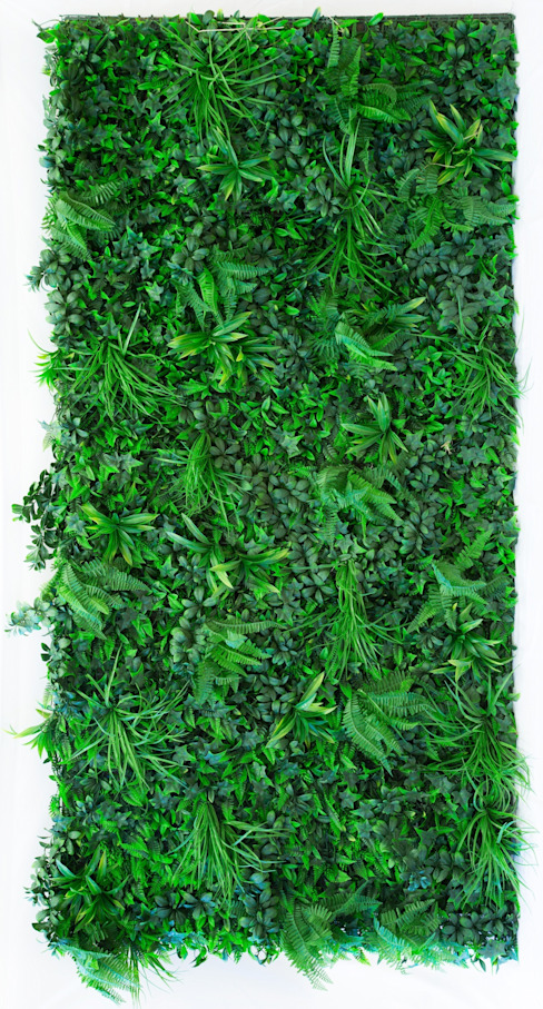 ARTIFICIAL FOREST FERN GREEN WALL FOLIAGE de Evergreen Trees & Shrubs Rústico