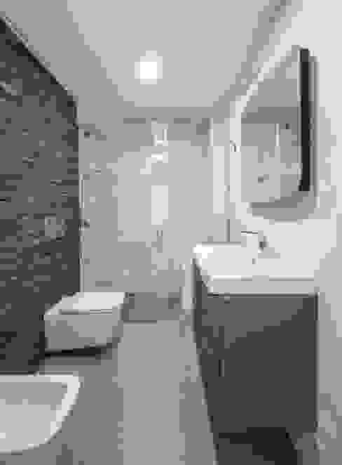 Baño 1 Baños de estilo minimalista de LLIBERÓS SALVADOR Arquitectos Minimalista