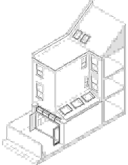 Clissold Crescent by Bradley Van Der Straeten Architects Rustic