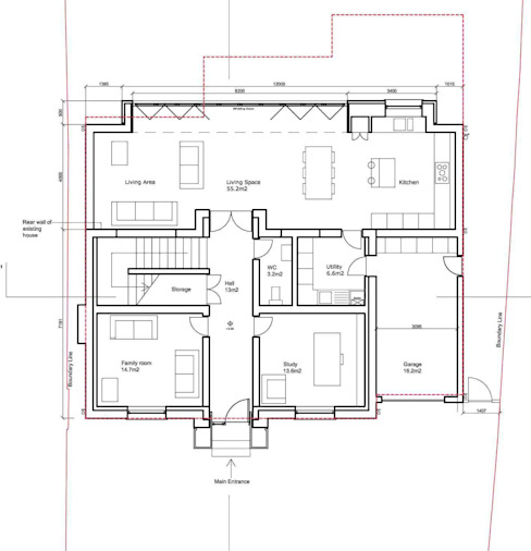 3 Beautiful British Homes With Floor Plans Homify