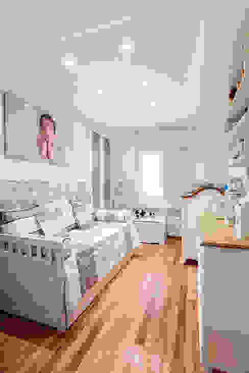 Apartamento Chácara Klabin (SP) Quarto infantil moderno por Amanda Pinheiro Design de interiores Moderno