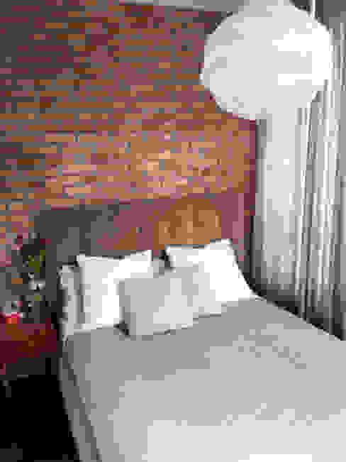 Projekty,  Sypialnia zaprojektowane przez homify, Industrialny