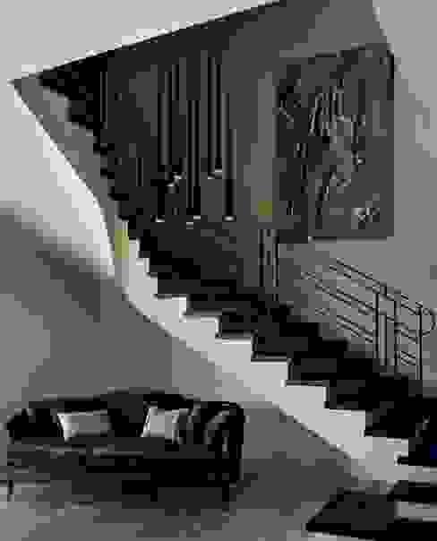 Коридор, прихожая и лестница в классическом стиле от ASA Autorskie Studio Architektury Классический