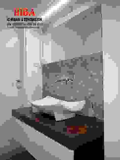 Ali Dablan Evi Modern Banyo Hiba iç mimarik Modern