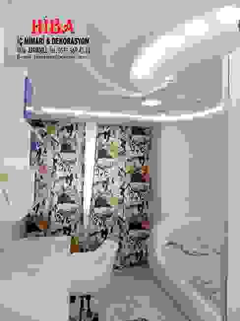Dr. Mustafa Ödemiş Villası Modern Çocuk Odası Hiba iç mimarik Modern