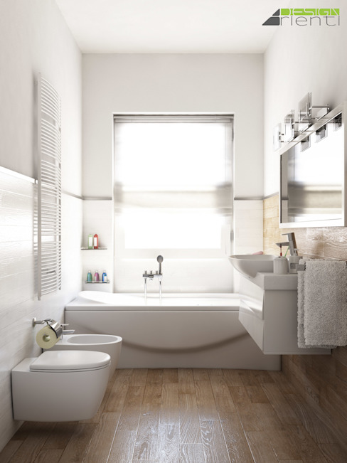 Bathroom by Arienti Design, Modern Tiles
