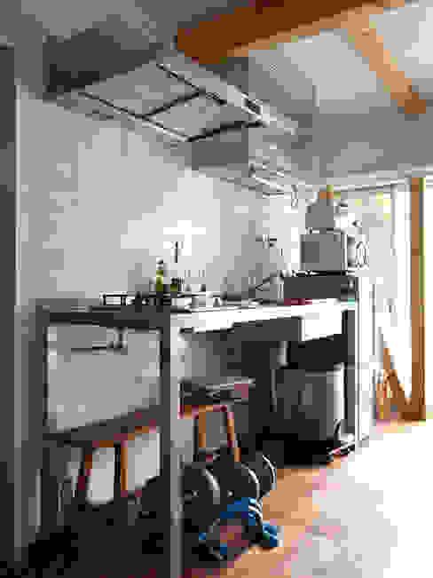 志田建築設計事務所 Cucina in stile industriale