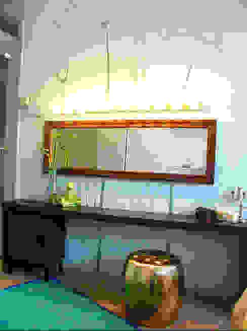 de Aileen Martinia interior design - Amsterdam Ecléctico Madera Acabado en madera