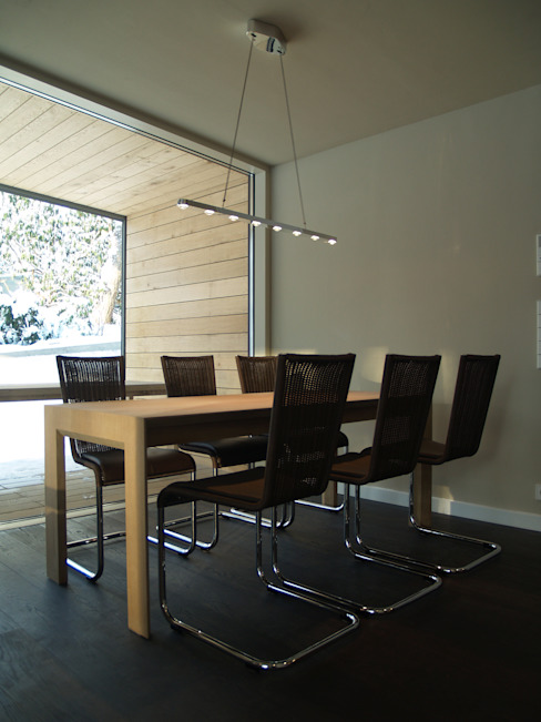 Cousin Architekt - Ökotekt Modern Dining Room