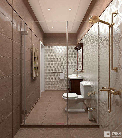Colonial style bathroom by GM-interior Colonial