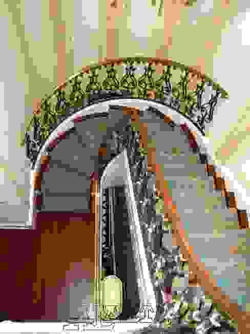 Balustrada schodowa – wzór B236 od ALMET Kowalstwo Artystyczne Klasyczny