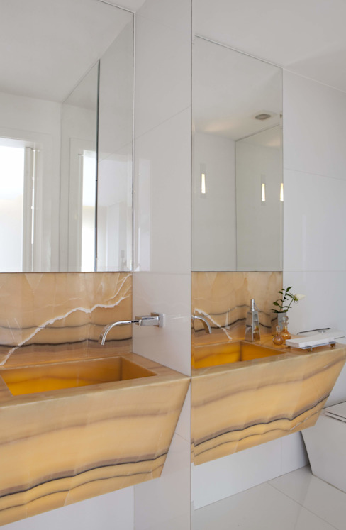 Top House SP Banheiros modernos por homify Moderno