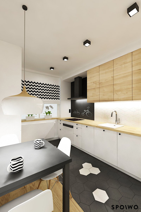 SPOIWO studio Scandinavian style kitchen