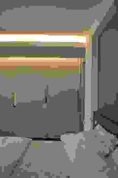Quarto Casal Quartos modernos por Compondo Arquitetura Moderno