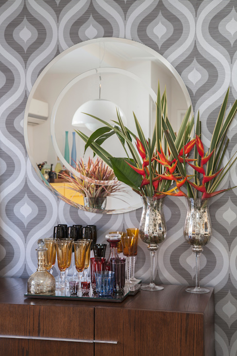 Biarari e Rodrigues Arquitetura e Interiores Dining roomAccessories & decoration