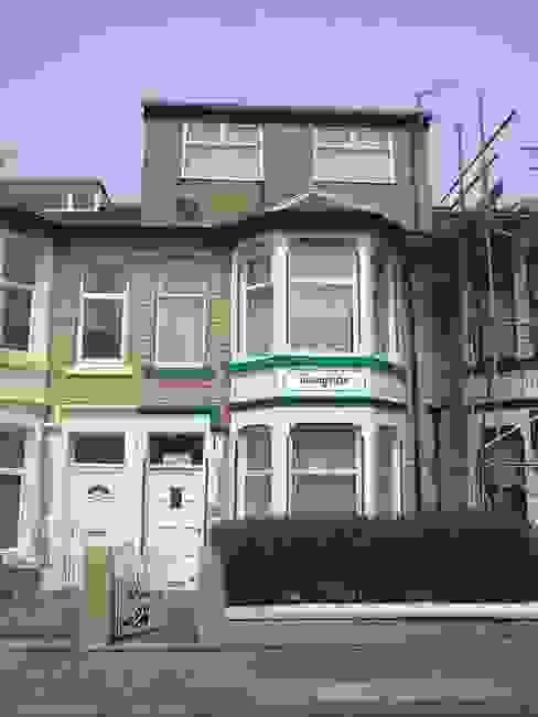 Front elevation before: modern  by Ben Jurin Architecture Ltd, Modern