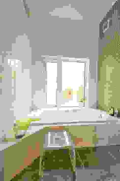 沼津 I邸 ラスティックスタイルの お風呂・バスルーム の HAPTIC HOUSE ラスティック