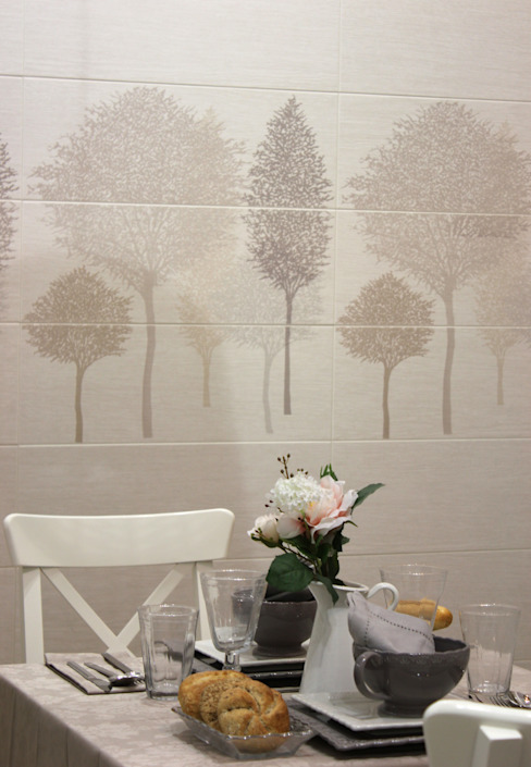 Sirocco Ceramic Wall Tiles de The London Tile Co. Moderno