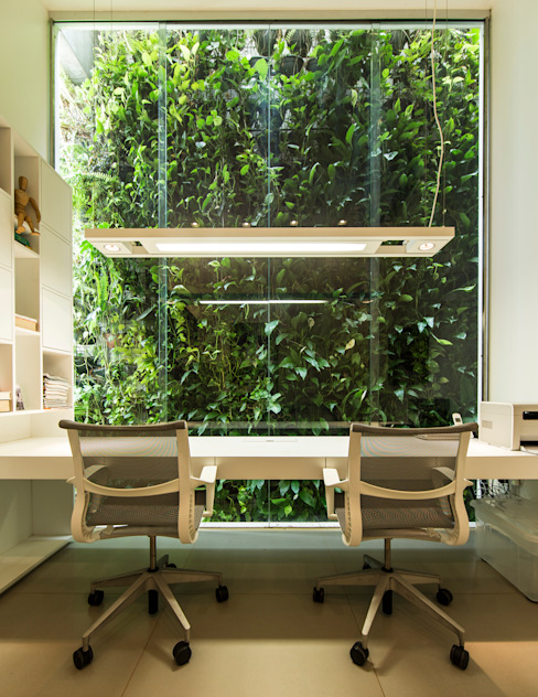 Study/office by Felipe Bueno Arquitetura