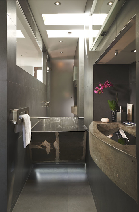 Ladbroke Road - Master Bathroom Modern bathroom by CUBIC Studios Limited Modern