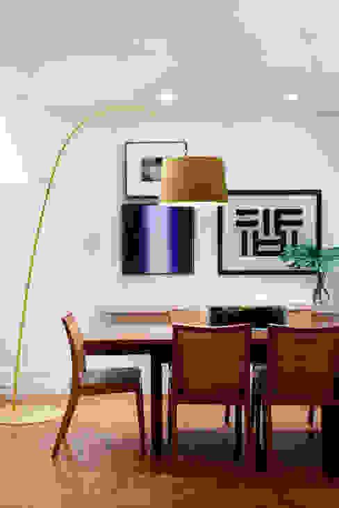 Sala de Jantar Salas de jantar ecléticas por Angela Medrado Arquitetura + Design Eclético