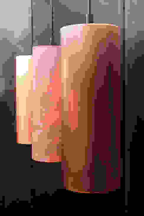 Copper Barrel Lamps: industriell  von METAL INTERIOR,Industrial Kupfer/Bronze/Messing