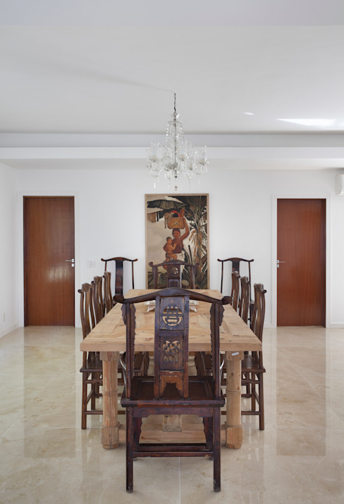 Moderne eetkamers van Ricardo Melo e Rodrigo Passos Arquitetura Modern