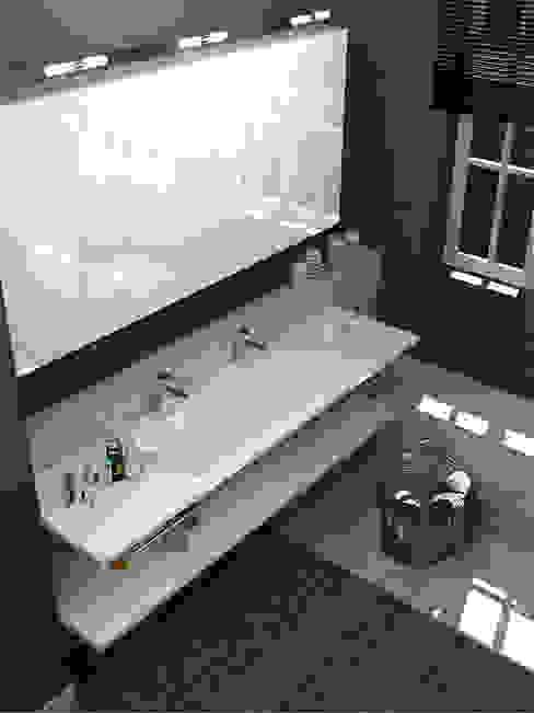 Salle de bains 2014 Salle de bain moderne par Architecture du bain Moderne