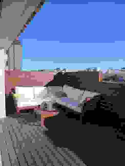 Reforma integral piso Ronda general Mitre BARCELONA Balcones y terrazas tropicales de ROIMO INTEGRAL GRUP Tropical