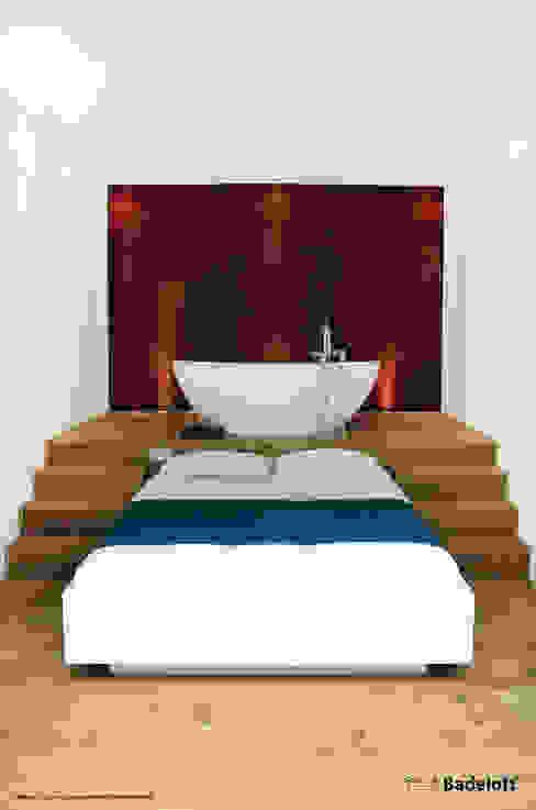 Mineralguss Badewanne BW-03-XL Badeloft - Badewannen und Waschbecken aus Mineralguss und Marmor BadezimmerWannen und Duschen